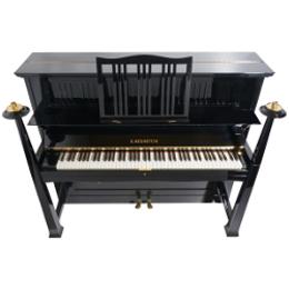 260px C. Bechstein Konzertklavier Modell 132 Artdekodesign