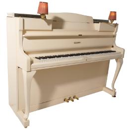 Wilhelm Schimmel Klavier Modell 110 elfenbeinweiß satiniert
