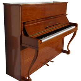 Grotrian Steinweg Klavier Modell 122, Mahagoni Schellack.