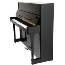 Schimmel Klavier 120 TR schwarz poliert, Konsole